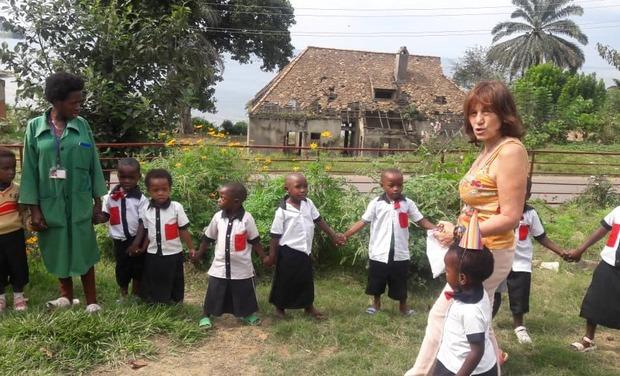Visuel du projet Sauvez l'école SARAHMOON pour la rentrée 2020!