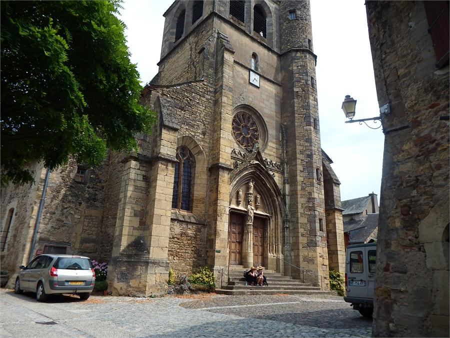 Saint Comes sur Olt en Aveyron