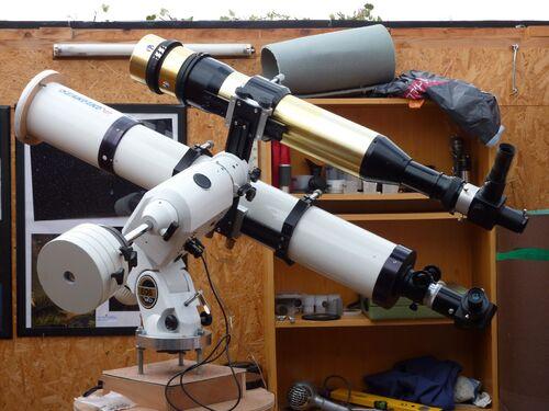 """Du nouveau à l'observatoire du """"Lézard"""""""