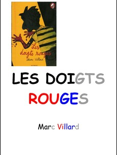 image tapuscrit Doigts Rouges dys Adeline