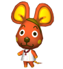 Salami animal crossing DS