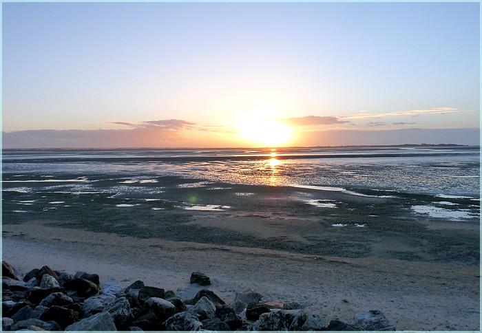 Baie de Somme en hiver