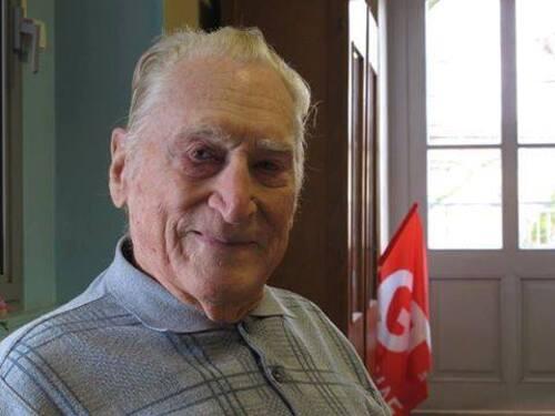 """Jolfred FREGONARA, 96 ans, """"dernier poilu de la sécu"""" nous a quittés (Michel Etiévent-"""