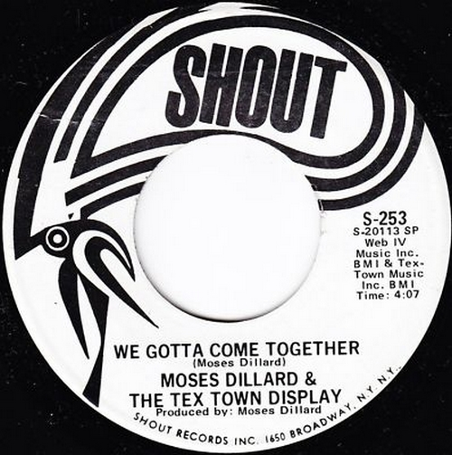 1972 : Single SP Shout Records S 253 [ US ]