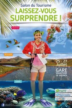 Affiche du Salon du tourisme NC 2014