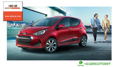 Location de voiture à Casablanca – Profitez de la promotion en location de la Hyundai i10 à Casablanca