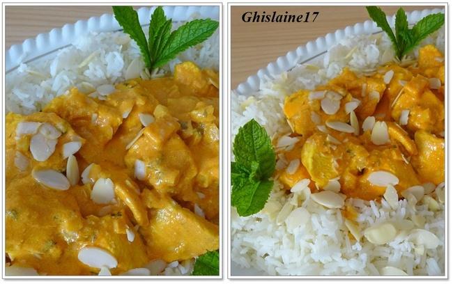 Poulet Tikka (cuisine indienne)