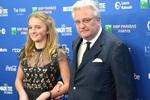 Le Prince Laurent et sa fille