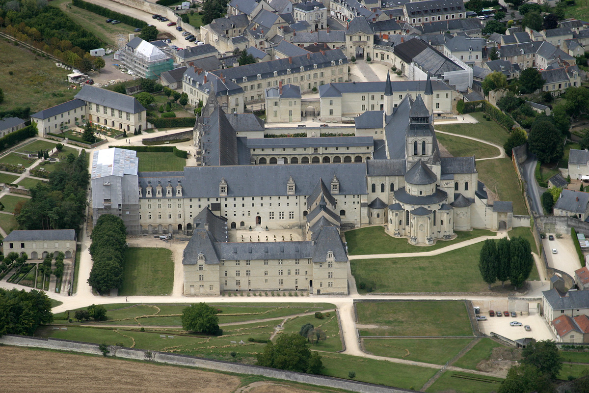 Fontevraud l'Abbaye France  City pictures : fontevraud l abbaye | Arts et Voyages