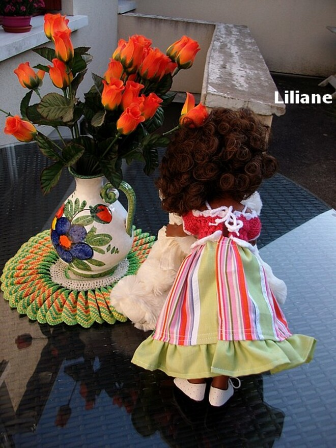 Liliane en mode-maison !