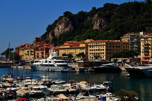 FRANCE (NICE - CÔTE D'AZUR) - (FRENCH RIVIERA)
