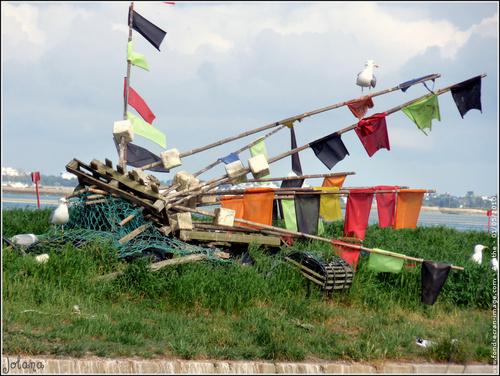fanions -bouées pour casiers -pêche