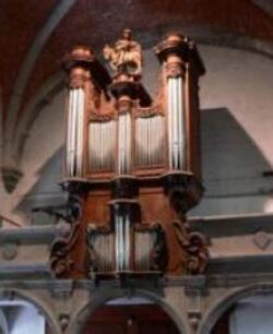 L'orgue de l'église Saint-Martin