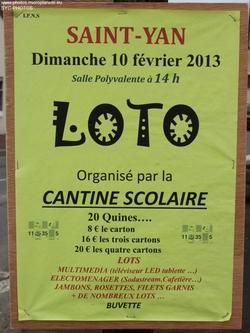 Loto Cantine Scolaire
