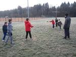 Des givrés s'entraînent au rugby