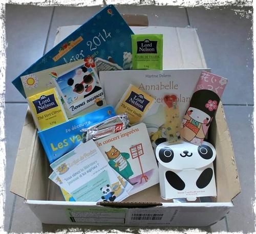 BOX DE PANDORE - JUILLET 2014 (vive la Poste !)