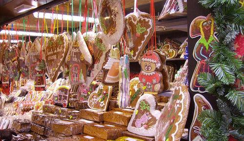 pain d'épices marché