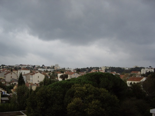 Le ciel Varois cette après-midi...