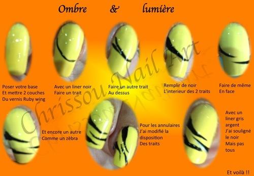 Nail Art sur Ombre& Lumière