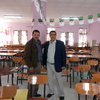 الأستاذ زوبير  مع الشيخ  معزوز