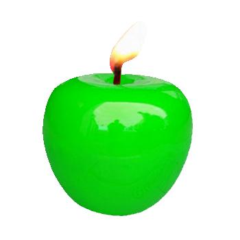 Bougies pomme