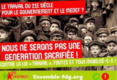 31 mars et suites…De la rue au Parlement, retrait de la loi Travail !