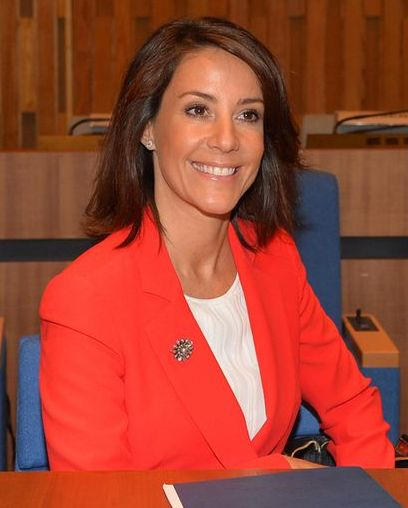 Marie à l'Unesco