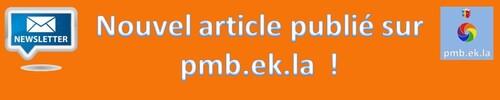 Nouvel article publié sur pmb.ek.la !