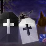 Origami Grave Stone