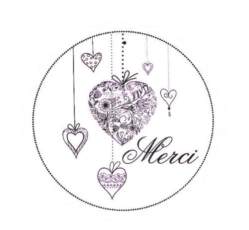 "Wordart  / tubes ""merci"""
