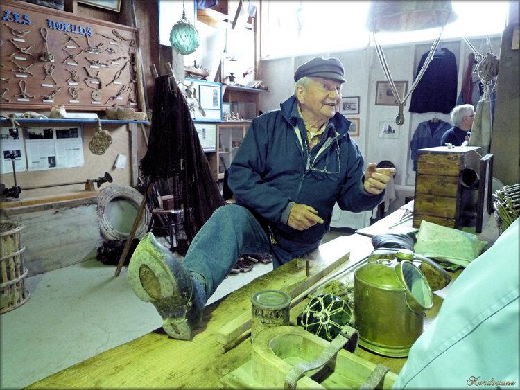 Espace marine et pêche (Vieux métiers d'Argol)