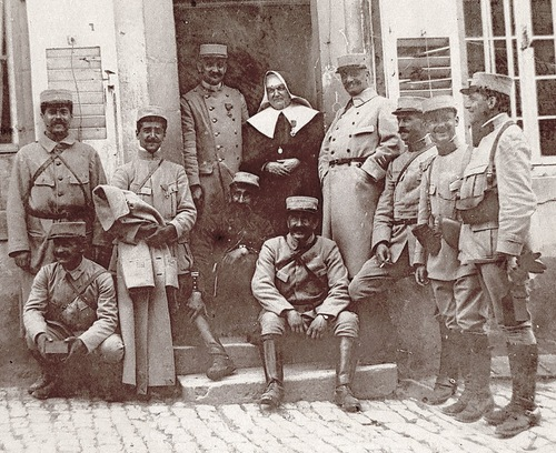 09*1915: Mai Maixe et les Cinq Tranchées (Forêt de Parroy) / Jolivet