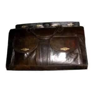 valise cuir noir