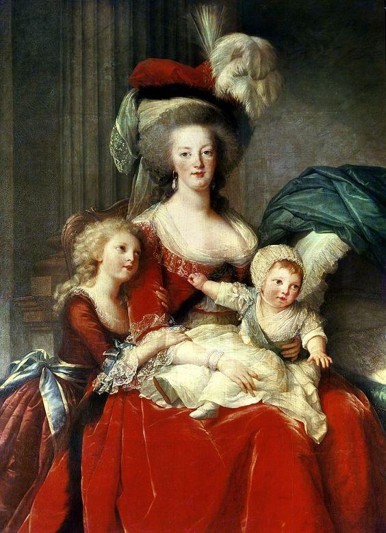 Marie-Antoinette (1787) Elisabeth Louise Vigee-Lebrun Collect //Marie Antoinette's female portrait artist: