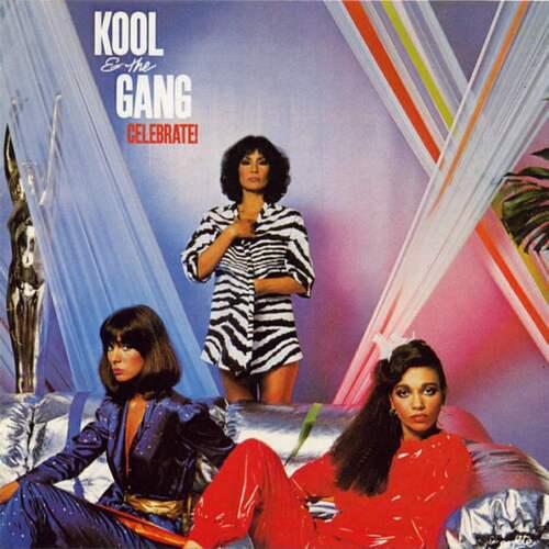 "Kool & The Gang : Album "" Celebrate ! "" De-Lite Records DSR 9518 [ US ]"