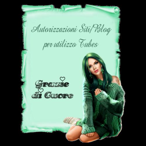 Autorizzazioni di Siti/Blog per utilizzo Tubes