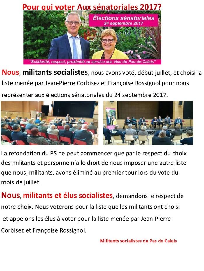 sénatoriales 2017