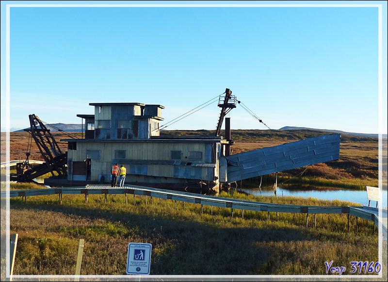 Petit tour dans le (vrai) musée de Nome  et dans celui à ciel ouvert à l'extérieur de la ville - Alaska