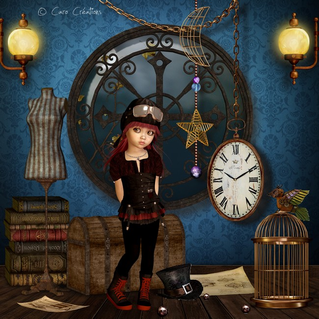 dolly steampunk