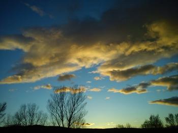 nuage jaune