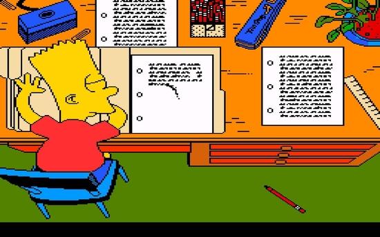 The Simpsons Bart's Nightmare ssssss