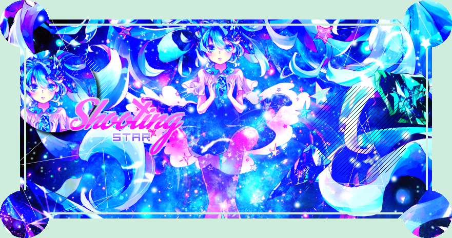 Collab' with Zaphire - Shooting star