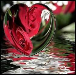 Dans l'écrin d'un coeur ...