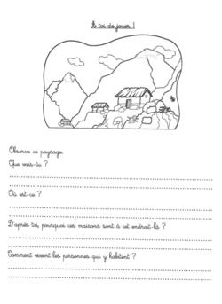 Le métier de géographe CE1/CE2