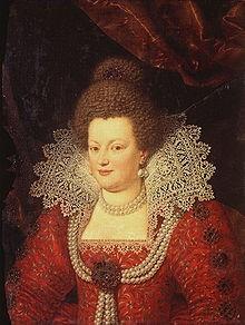 220px-Maria de Medici by Frans Pourbus or Scipione Pulzone
