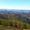 Vue depuis le sommet de Subizia ou Zubizia (570 m)