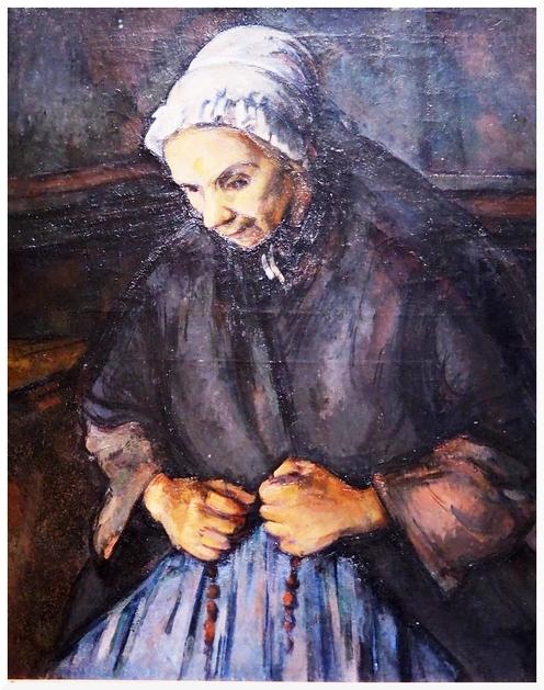Exposition Cezanne au Musée d'Orsay.