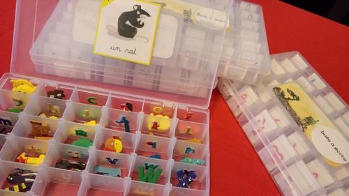 Mes boites à écrire : lettres mobiles à toutes les sauces !