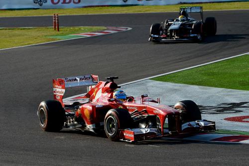 GP du Japon  => Fernado Alonso 4ème Felipe Massa 10ème !!!!