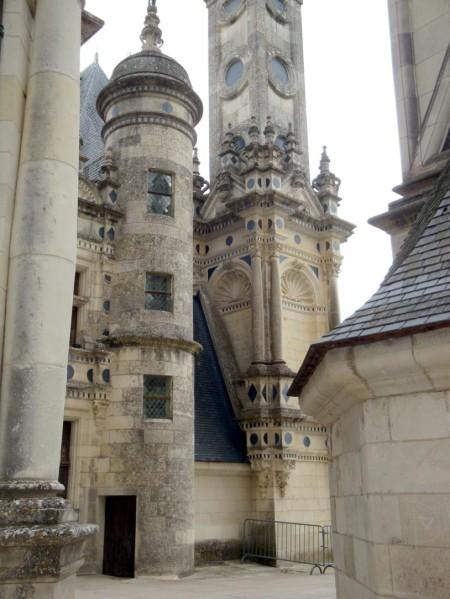 Chambord, les terrasses du château.9l jpg